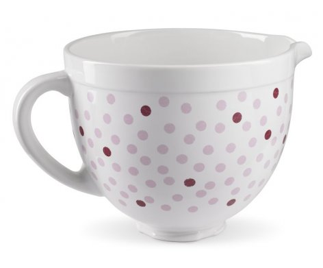 Bowl To Suit Kitchen Aid Ceramic Pink