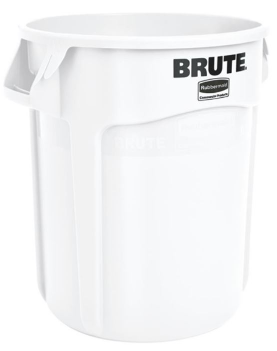 Bin Rubbermaid 2620 Brute 75.5lt White