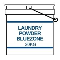 Laundry Power 20kg Bucket Bluzone