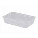 Containers Microwave 650ml Castaway Rect