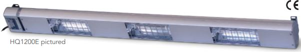 Heat Lamp Hq1800 1800mm Quartz 4 Lamps