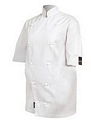 Jacket Prochef White Small Poly Cotton