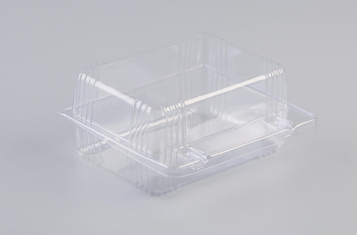 Pack Hinged Lid Clear 105x90x50mm