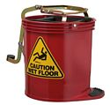 Mop Bucket Contractor Red Economy 15lt