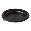 Plate Round Microready Black