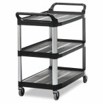Trolley Rubbermaid 4091 Ut Cart Black